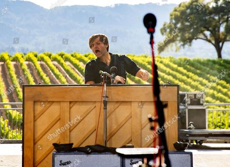 Stock Image of Death Cab For Cutie - Ben Gibbard