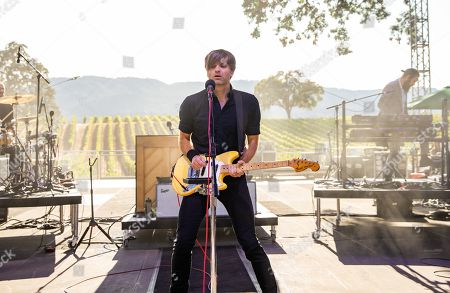 Stock Picture of Death Cab For Cutie - Ben Gibbard