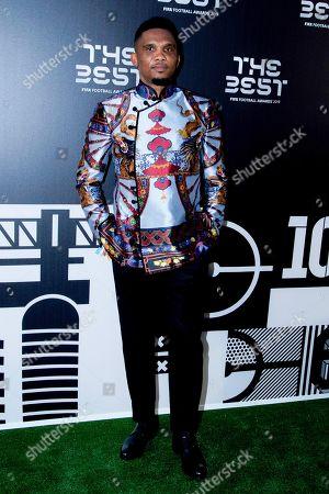 Stock Photo of Samuel Eto'o