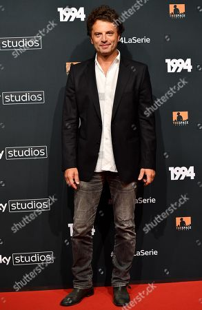 Guido Caprino poses for the media during the photo call for the Sky TV series '1994' in Rome, Italy, 24 September 2019.