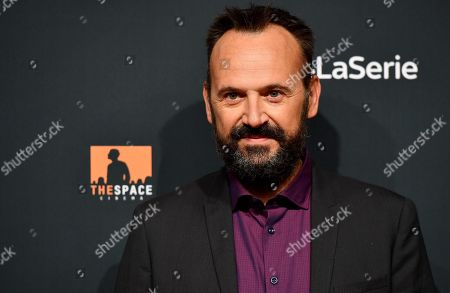 Stock Picture of Paolo Pierobon poses for the media during the photo call for the Sky TV series '1994' in Rome, Italy, 24 September 2019.
