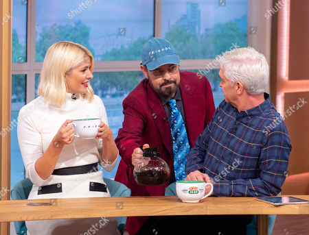 James Michael, Holly Willoughby and Phillip Schofield
