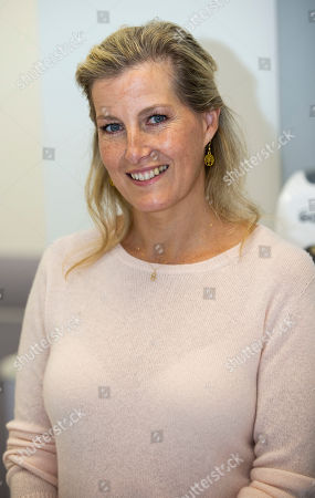 Sophie Countess of Wessex during her visit at Musgrove Park Hospital to unveil the new MRI Scanner