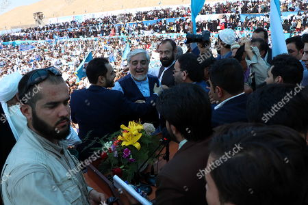 Dr. Abdullah Abdullah, Presidential candidate attends his election campaign in Herat, Afghanistan, 24 September 2019. Presidential elections in Afghanistan are scheduled for 28 September, with a total of 18 candidates, including incumbent President Mohammad Ashraf Ghani, are running for the post.
