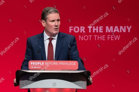 Keir Starmer MP, Shadow Secretary of State for Exiting the European Union