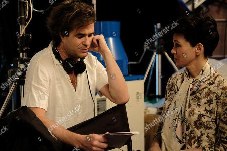 Rupert Goold Director and Renee Zellweger as Judy Garland