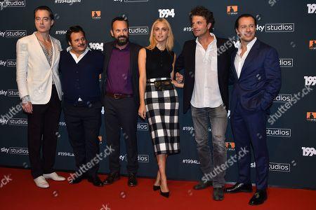 Antonio Gerardi, Paolo Pierobon, Guido Caprino, Miriam Leone and Stefano Accorsi