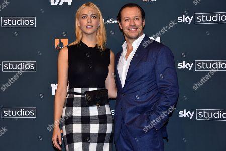 Miriam Leone and Stefano Accorsi