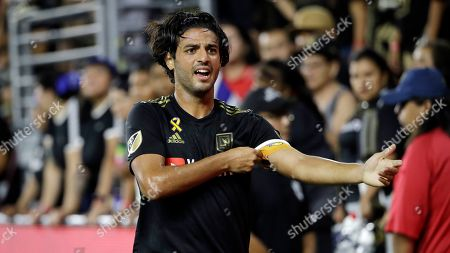 Los Angeles FC's Carlos Vela during the second half of an MLS soccer match against Toronto FC, in Los Angeles