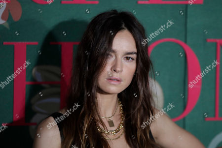 Kasia Smutniak upon her arrival at the Green Carpet Fashion Awards in Milan, Italy