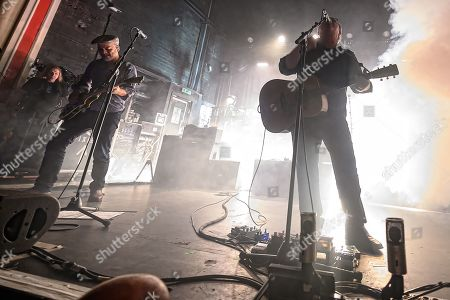 Editorial photo of Pixies in concert, O2 Academy, Glasgow, Scotland, UK - 22 Sep 2019