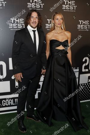 Carles Puyol and guest