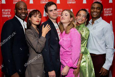 Editorial image of 'Sunday' play opening night, New York, USA - 23 Sep 2019