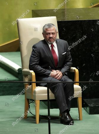King Abdullah II of Jordan arrives to the general debate of the 74th session of the General Assembly of the United Nations at United Nations Headquarters in New York, New York, USA, 24 September 2019. The annual meeting of world leaders at the United Nations runs until 30 September 2019.