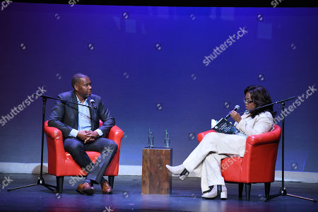 Editorial picture of Ta-Nehisi Coates in Conversation: The Water Dancer event, New York, USA - 23 Sep 2019