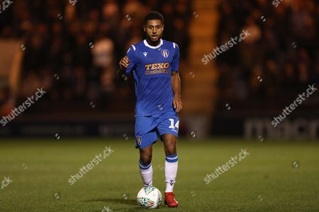 Brandon Comley of Colchester United - Colchester United v Tottenham Hotspur, Carabao Cup, Round Three, JobServe Community Stadium, Colchester, UK - 24th September 2019