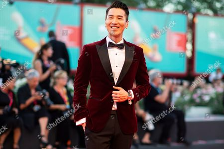 Stock Picture of Mark Chao poses for photographers upon arrival at the premiere of the film 'Saturday Fiction' at the 76th edition of the Venice Film Festival, Venice, Italy