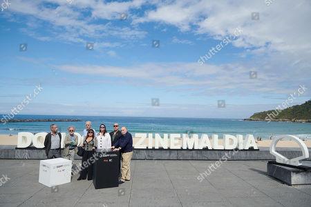 Stock Photo of Carlos Boyero, Loles Leon, Ana Perez-Lorente, Antonio Resines, Fernando Trueba, Fernando Colomo, Fernando Mendez Leite