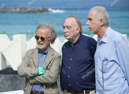 Stock Image of Fernando Trueba, Fernando Colomo, Fernando Mendez Leite