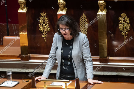 French Health Minister Agnes Buzyn attends a debate on a bill that would give single women and lesbian couples access to in-vitro fertilization and related procedures called PMA (Procreation Medicalement Assiste or assisted reproduction) at the National Assembly, in Paris, France, 24 August 2019 (issued 25 September 2019).