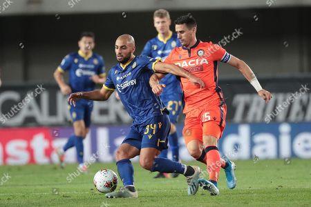 Editorial image of Hellas Verona FC vs Udinese Calcio, Italy - 24 Sep 2019
