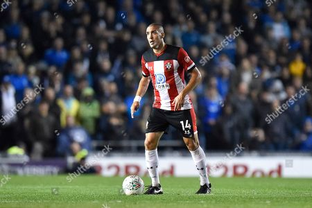 Oriol Romeu (14) of Southampton during the EFL Cup match between Portsmouth and Southampton at Fratton Park, Portsmouth