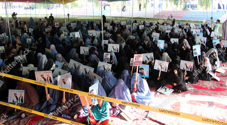 Stock Picture of Supporters of Presidential candidate Dr. Abdullah Abdullah attend his election campaign, in Kandahar, Afghanistan, 24 September 2019. Presidential elections in Afghanistan are scheduled for 28 September, with a total of 18 candidates, including incumbent President Mohammad Ashraf Ghani, are running for the post.