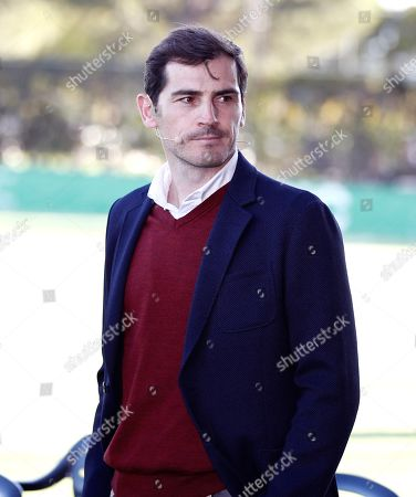 Porto's goalkeeper Iker Casillas attends the presentation of Pozuelo soccer team in Madrid, Spain, 24 September 2019. Casillas collaborates with Pozuelo soccer team through his own foundation.