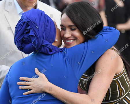 Editorial photo of Prince Harry and Meghan Duchess of Sussex visit to Africa - 24 Sep 2019