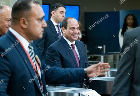 Editorial photo of UN General Assembly Egypt - 24 Sep 2019