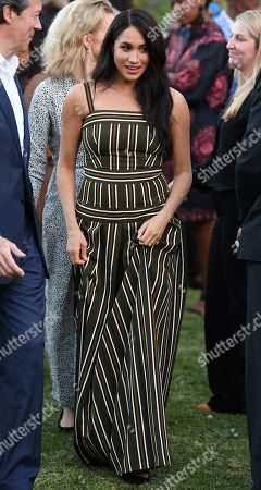 Stock Picture of Meghan Duchess of Sussex, attends a Reception for Young People at the Residence of the British High Commissioner in Cape Town, South Africa