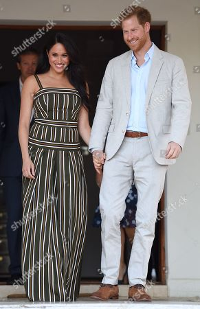 Editorial image of Prince Harry and Meghan Duchess of Sussex visit to Africa - 24 Sep 2019