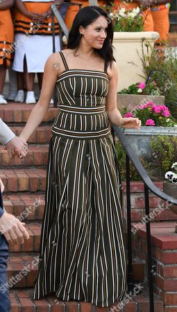 Meghan Duchess of Sussex, attends a Reception for Young People at the Residence of the British High Commissioner in Cape Town, South Africa