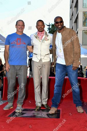 Dito Montiel, Terrence Howard, Malcolm D. Lee. Dito Montiel, from left, Terrence Howard and Malcolm D. Lee attend a ceremony honoring Howard with a star on the Hollywood Walk of Fame, in Los Angeles