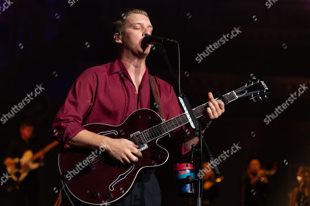 Editorial photo of George Ezra in concert at the Royal Albert Hall in London, UK - 24 Sep 2019
