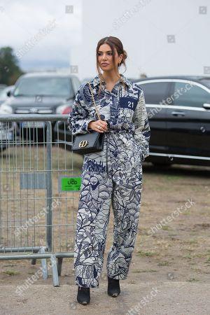 Editorial photo of Street Style, Spring Summer 2020, Paris Fashion Week, France - 24 Sep 2019