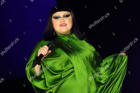 US Singer Beth Ditto performs during the Women Spring/Summer 2020 collection by Etam lingerie show during the Paris Fashion Week, in Paris, France, 24 September 2019. The presentation of the Women's collections runs from 23 September to 01 October.