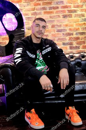 Manuel Medrano poses for a photograph during an interview in Bogota, Colombia, 24 September 2019. Colombian artist Manuel Medrano is preparing to release a second album, that will feature urban rhythms and acoustic sounds, but will include traditional pop that made the singer popular.