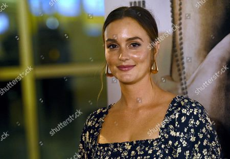 """Leighton Meester arrives at a special screening of """"Semper Fi"""", and ArcLight Hollywood Cinemas in Los Angeles"""