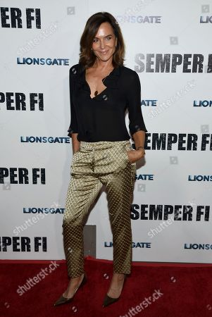 """Polly Draper arrives at a special screening of """"Semper Fi"""", and ArcLight Hollywood Cinemas in Los Angeles"""