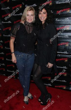 Erika Eleniak and Nancy Valen