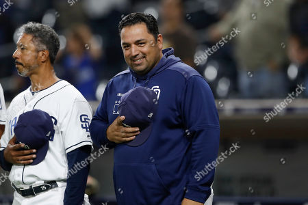 Editorial image of Dodgers Padres Baseball, San Diego, USA - 24 Sep 2019