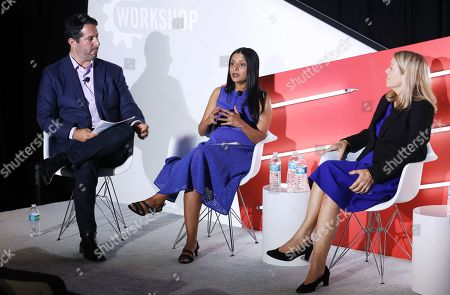 Stock Picture of Peter Sedlarcik (Chief Data Officer, Havas Media), Radha Subramanyam (Chief Research and Analytics Officer, CBS Television Network, CBS Television Network) and Jane Clarke (CEO and Managing Director, CIMM)