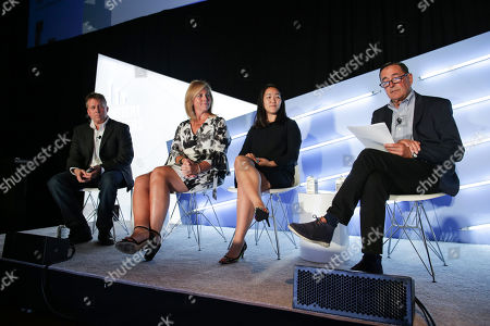Stock Image of Bernard Brenner (Senior Director, Microsoft), Amy Fenton (Chief Client Officer, Kantar), Alice Thompson (Head of Inclusion, Equity and Diversity, North America, Kantar) and Paul Donato (Chief Research Officer, ARF)