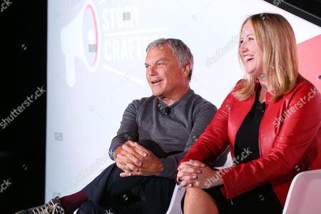 Sir Martin Sorrell (Executive Chairman, S4 Capital), Deborah Wahl (Global Chief Marketing Officer, General Motors)