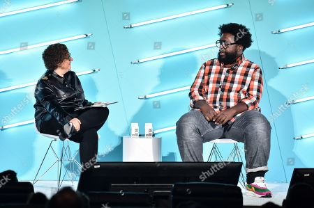 Gayle Troberman (CMO, iHeartMedia) and Questlove (Musical Director, The Tonight Show)