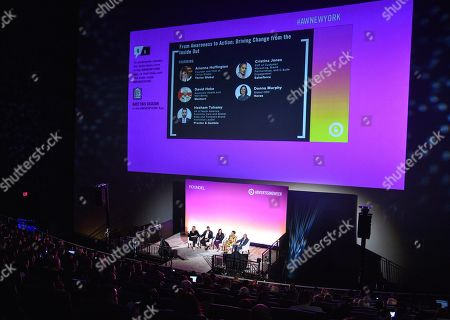 Editorial image of From Awareness to Action: Driving Change from the Inside Out seminar, Advertising Week New York, AMC Lincoln Square, New York, USA - 25 Sep 2019