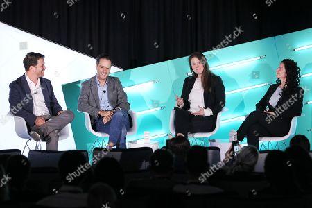 John Povey (COO, a4 Media), Jon Steinberg (President, Altice USA News), Colleen Durkin (SVP, Group Director, Video Investment, Assembly Media) and Adina Smith (SVP, Integrated Marketing, Brand & PR, REVOLT)