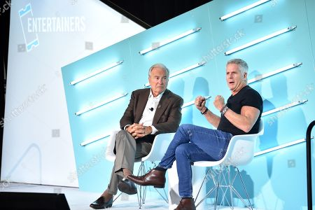 Ken Auletta (Author and Media Critic, The New Yorker) and Donny Deutsch (MSNBC Correspondent & Chairman Emeritus, Deutsch Inc.)