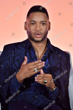 Editorial picture of Corporations and Compassion: A Discussion on Masculinity seminar, Advertising Week New York, AMC Lincoln Square, New York, USA - 25 Sep 2019